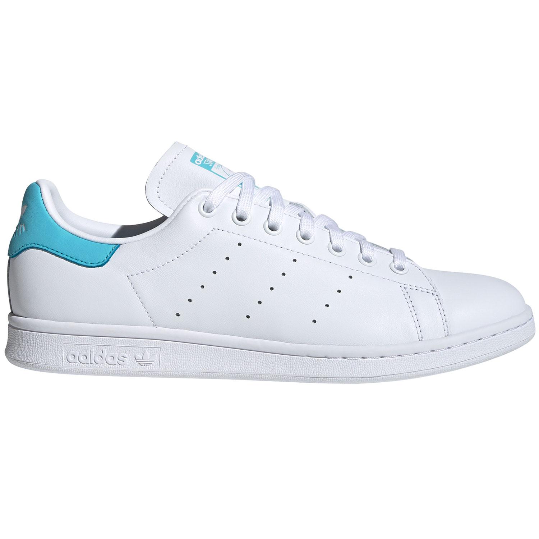 adidas Originals Stan Smith Damen Sneaker weiß hellblau