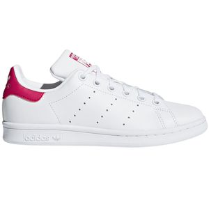 adidas Originals Stan Smith J Sneaker weiß pink – Bild 1