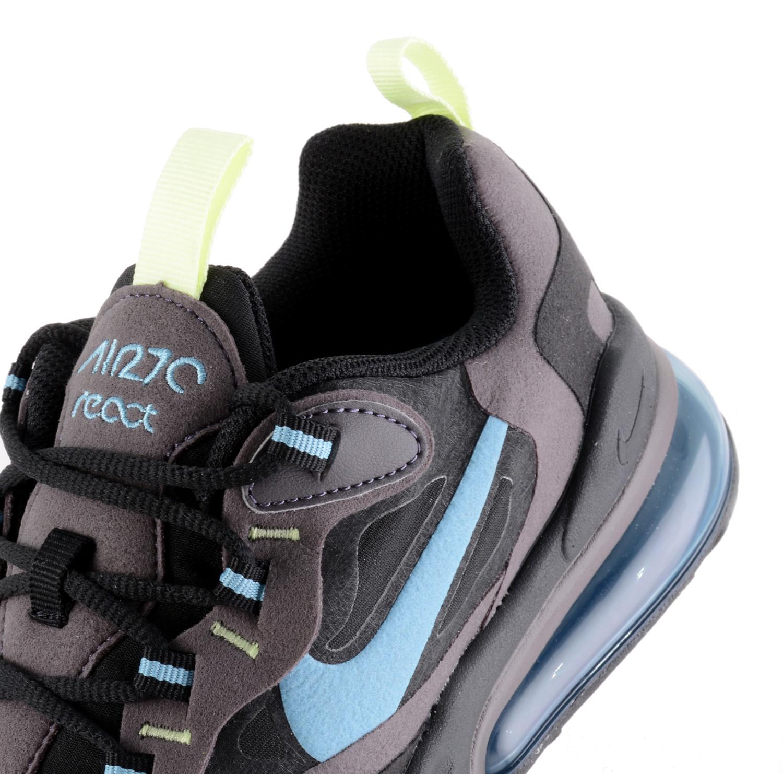 Nike Air Max 270 React GS Kinder Sneaker schwarz grau blau
