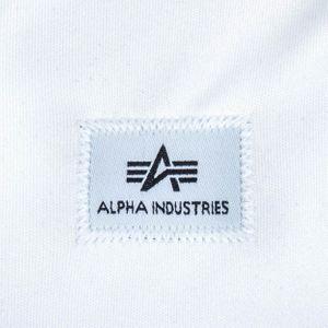 Alpha Industries Track Tape Jacket schwarz weiß – Bild 4