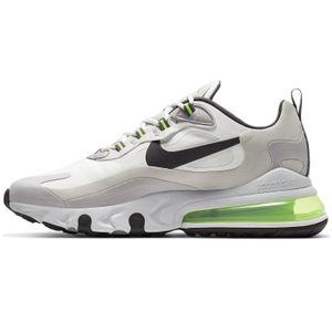 Nike Air Max 270 React GS Kinder Sneaker grau grün – Bild 2