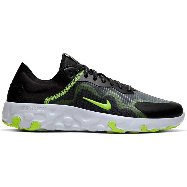 Nike Sneaker Renew Lucent Running Sneaker black volt pure platinum