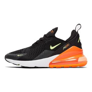 Nike Air Max 270 GS Kinder Sneaker schwarz orange grün – Bild 2