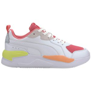 Puma X-Ray Game Sneaker weiß pink orange 372849 03 – Bild 1
