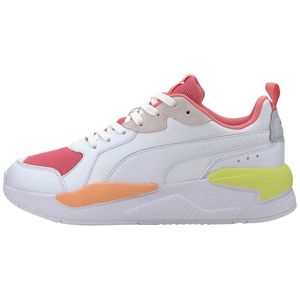 Puma X-Ray Game Sneaker weiß pink orange 372849 03 – Bild 2