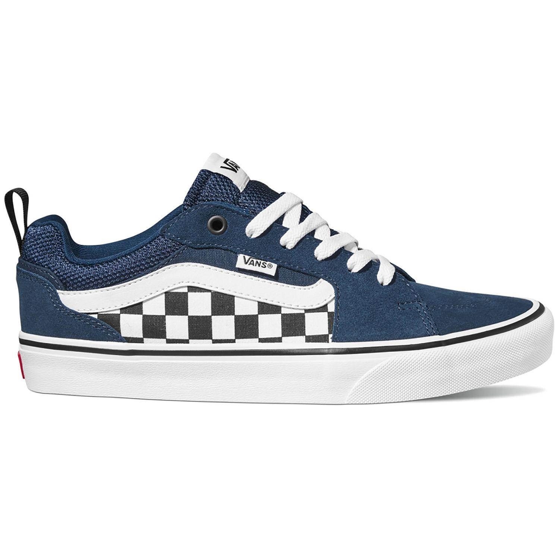 Vans Filmore Sneaker blau weiß Checkerboard