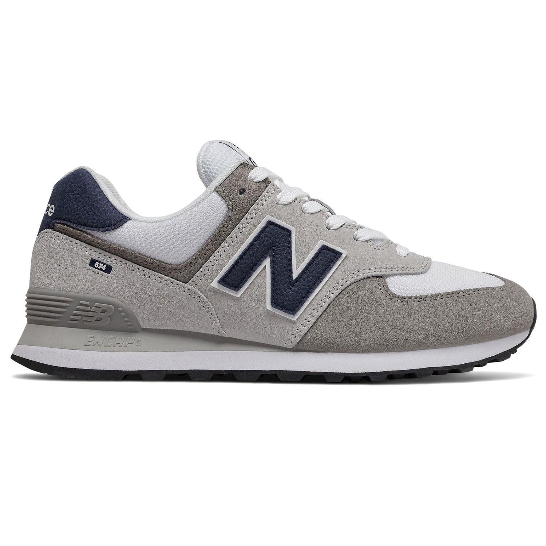 New Balance ML574EAG Herren Sneaker hellgrau weiß blau 774921-60 122
