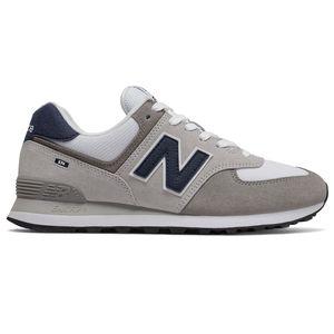 New Balance ML574EAG Herren Sneaker hellgrau weiß blau 774921-60 122 – Bild 1