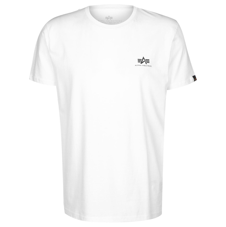 Alpha Industries Shirt Herren Backprint T weiß