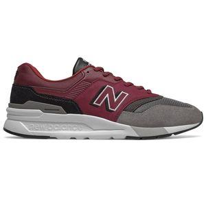 New Balance CM997HEL Herren Sneaker weinrot grau weiß 774451-60 18 – Bild 1