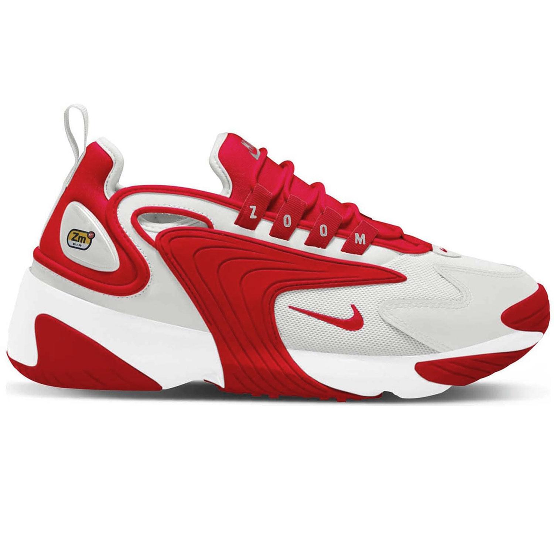 Nike Zoom 2K Sneaker weiß rot