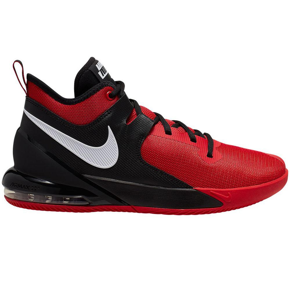Nike Air Max Impact Basketball Sneaker rot schwarz