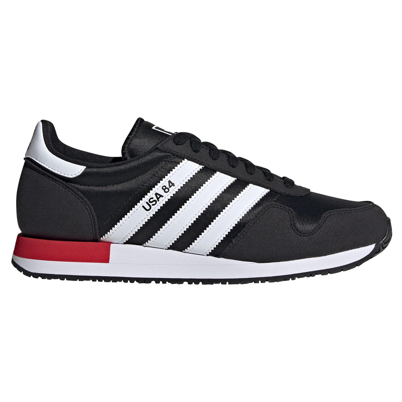 adidas Originals USA 84 Herren Sneaker schwarz weiß rot FV2050