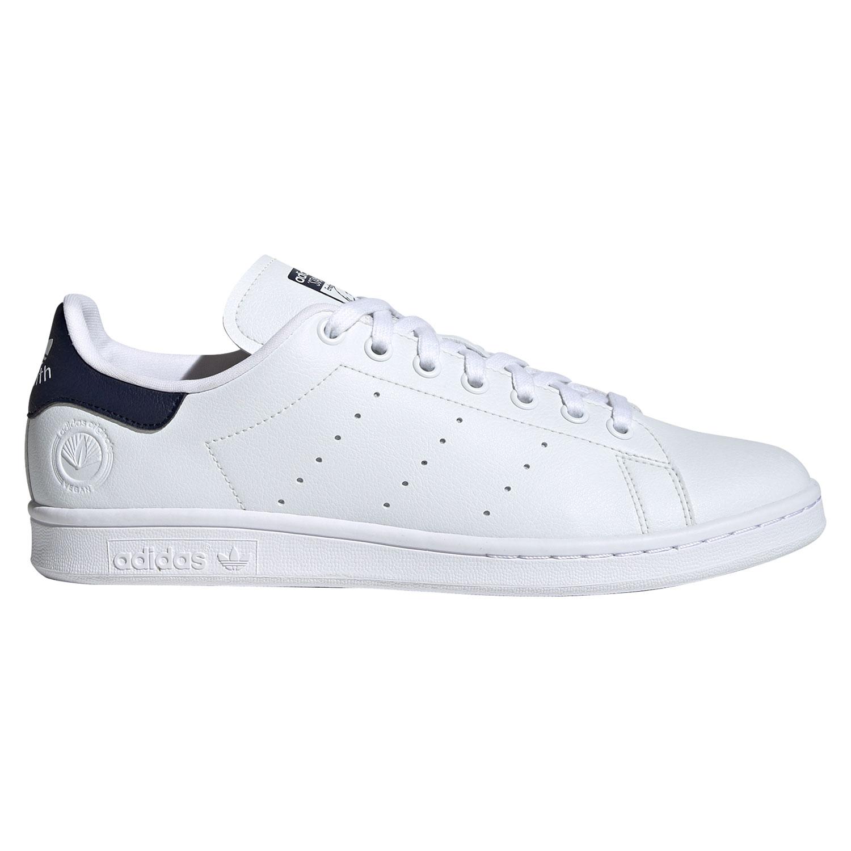 adidas Originals Stan Smith Vegan Sneaker weiß blau FU9611