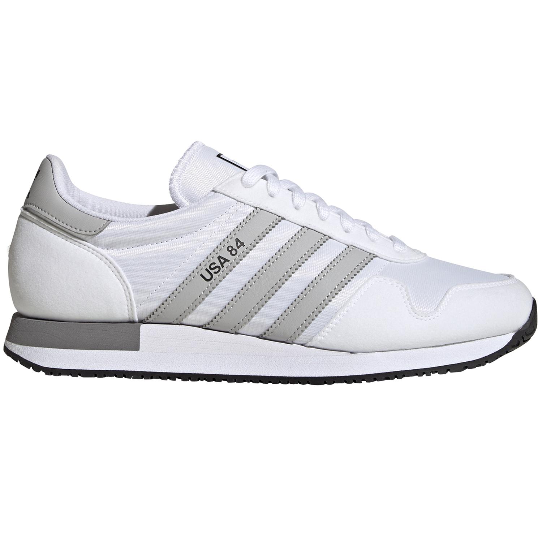 adidas Originals USA 84 Sneaker weiß grau