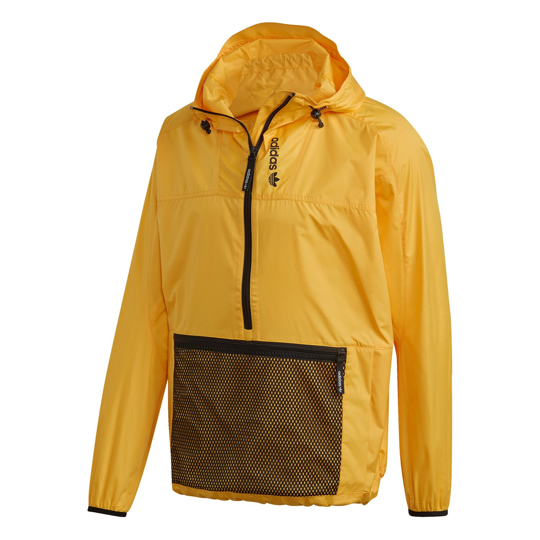 adidas Originals Adventure Arch Anorak Windbreaker gelb schwarz