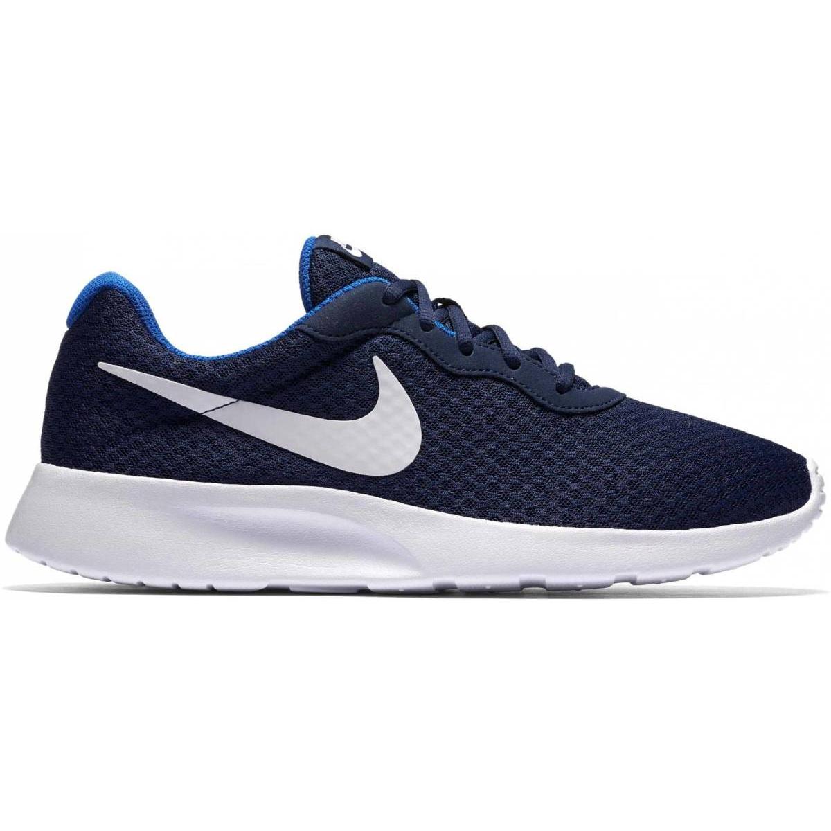 Nike Tanjun Sneaker blau weiß