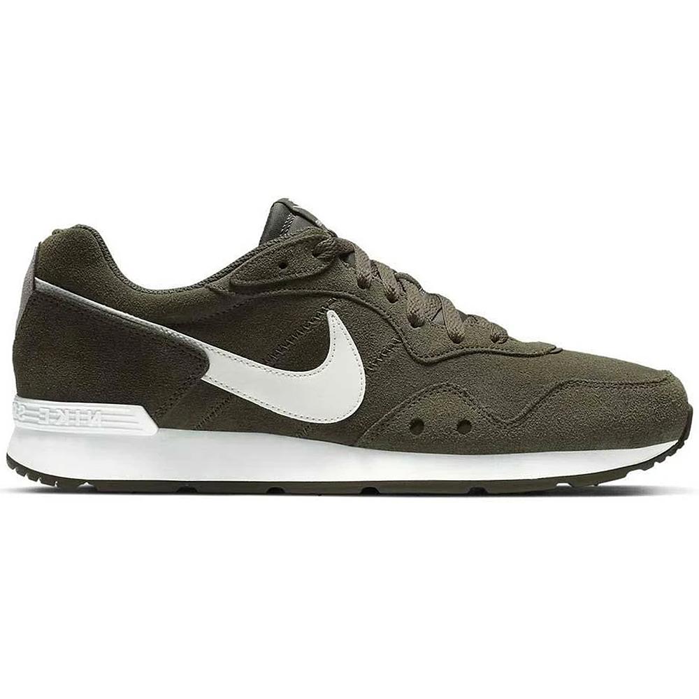 Nike Venture Runner Suede Retro Sneaker oliv weiß