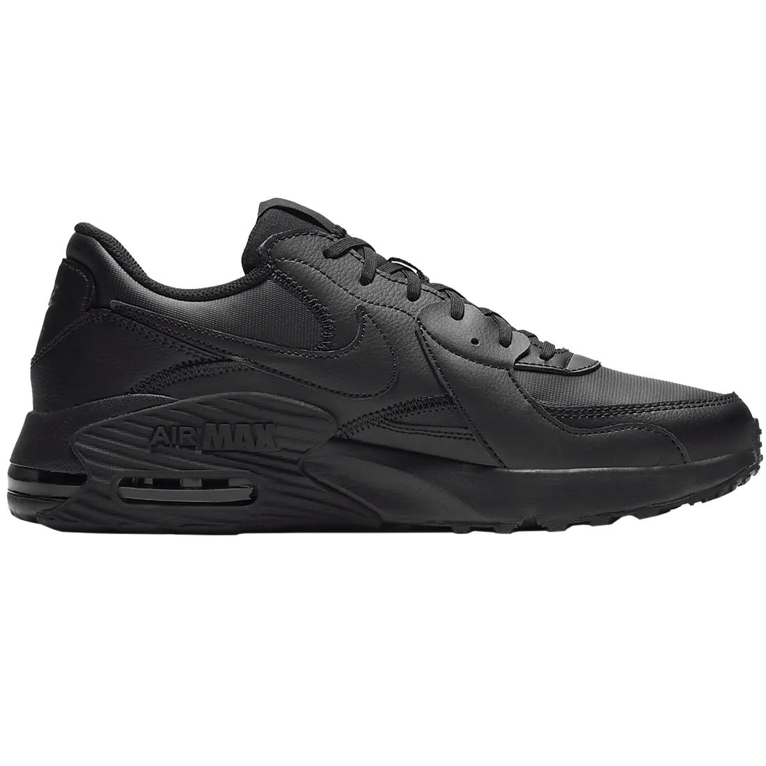 Nike Air Max Excee Leather Sneaker schwarz