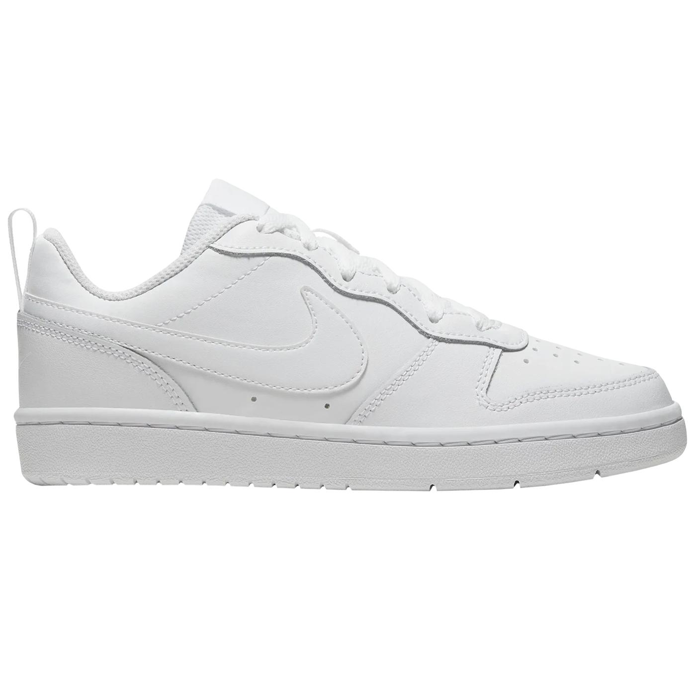 Nike Court Borough Low 2 GS Kinder Sneaker weiß
