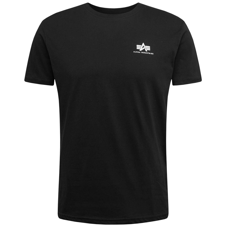 Alpha Industries Backprint T schwarz Herren T-shirt