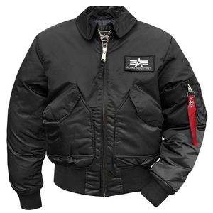 Alpha Industries Men's CWU 45 Jacke schwarz