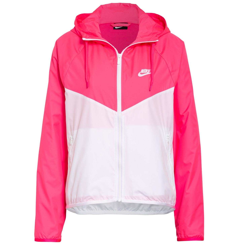 Nike Sportswear WMNS Windbreaker Jacke pink weiß