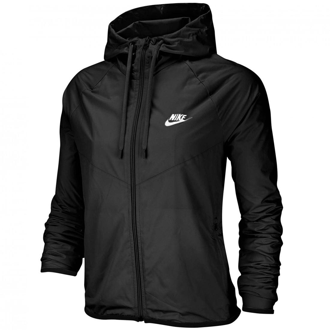 Nike Sportswear WMNS Windbreaker Jacke schwarz