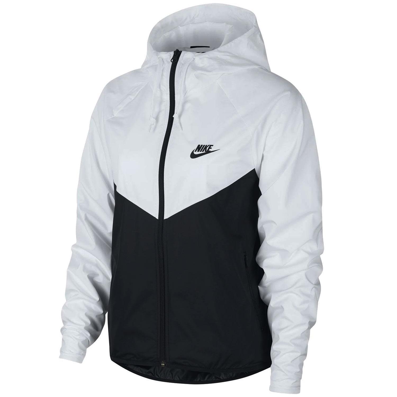 Nike Sportswear WMNS Windbreaker Jacke schwarz weiß