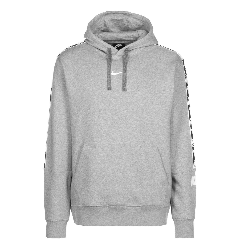 Nike NSW Hoodie Repeat Fleece Herren grau