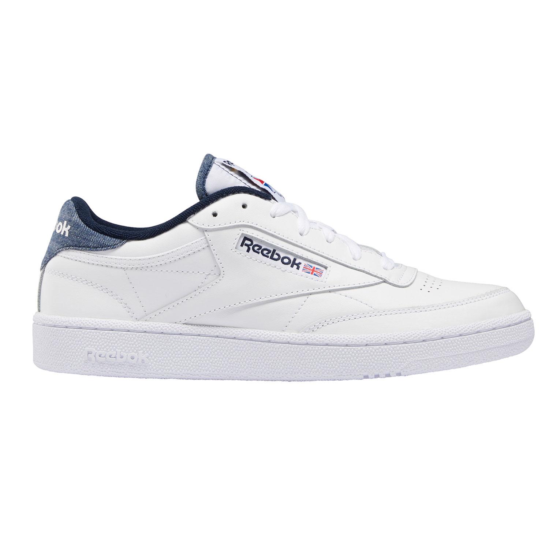 Reebok Herren Sneaker Club C 85 Herren weiß blau