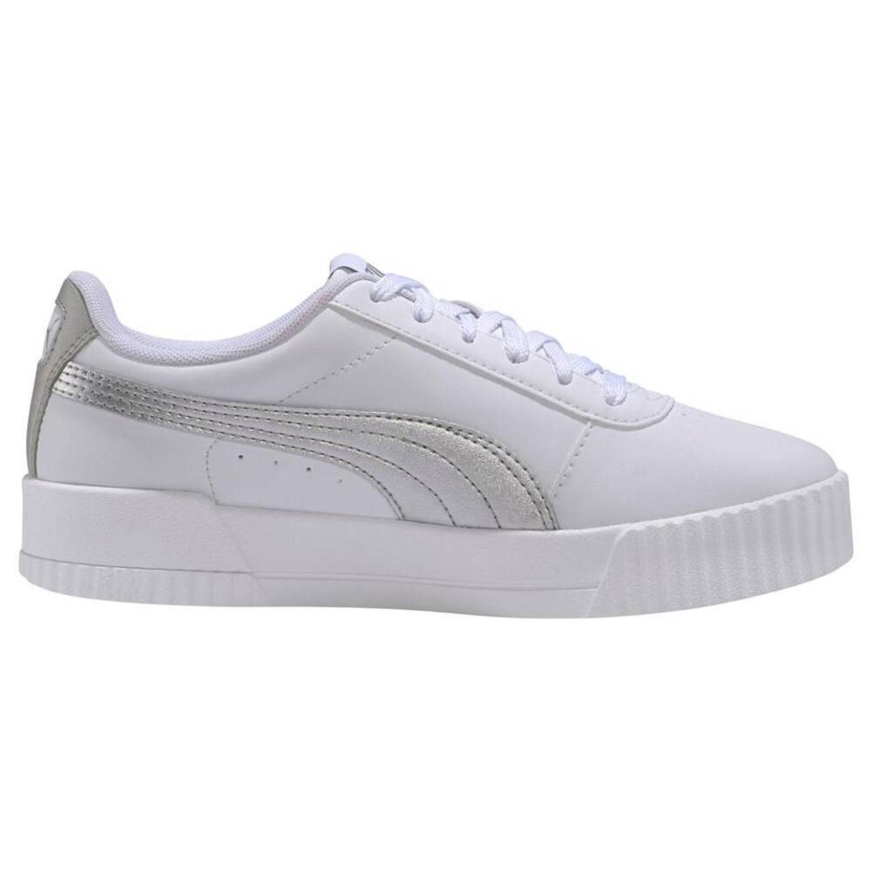 Puma Carina Meta20 weiß silber Damen Sneaker