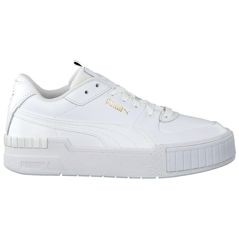 Puma Damen Cali Sport Wn´s Sneaker weiß gold 373871 01