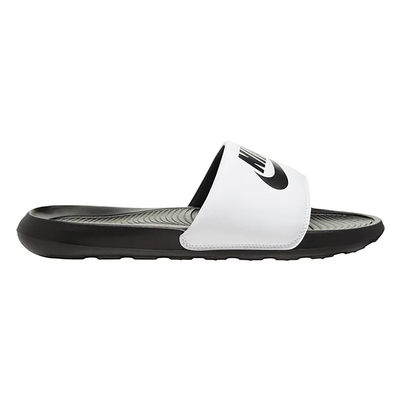 Nike Victori One Slide Badeschuhe schwarz weiß