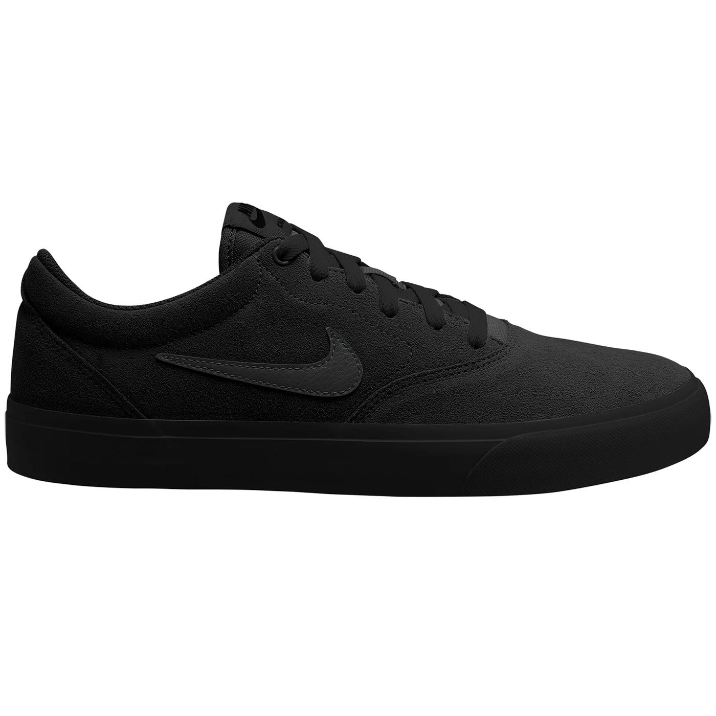 Nike SB Charge Suede Sneaker Skateschuh schwarz