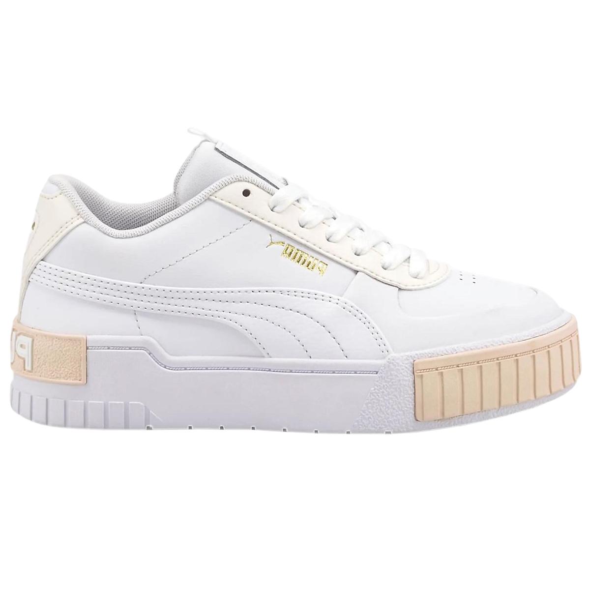 Puma Cali Sport Junior Sneaker weiß apricot