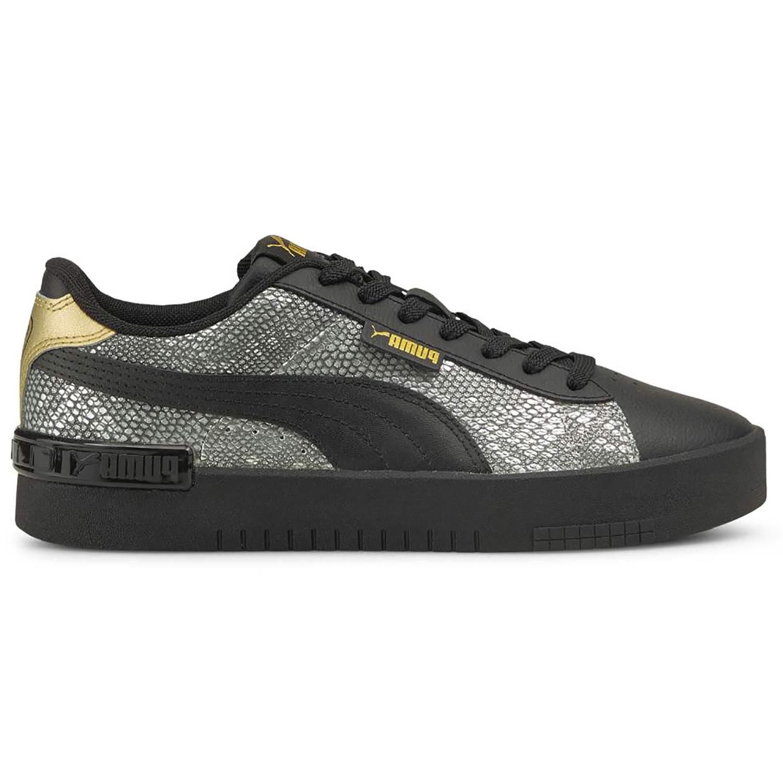 Puma Jada Snake Premium Sneaker schwarz silber gold 381918 02