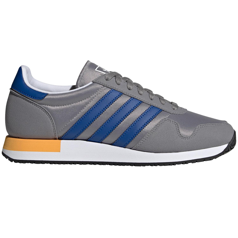 adidas Originals USA 84 Sneaker grau blau gelb