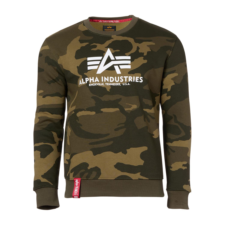 Alpha Industries Basic Sweater olive camo