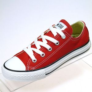 Converse All Star OX Kinder red Canvas