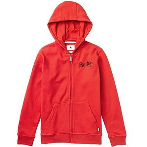 Burton Boys Bolt Full-Zip Hoodie Kinder Cardinal Rot