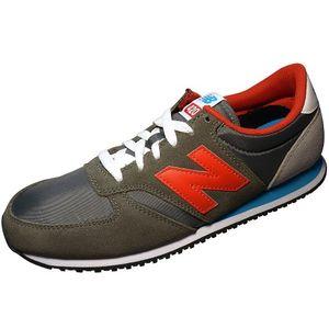 New Balance Sneaker Unisex U420SNBR grau rot – Bild 1