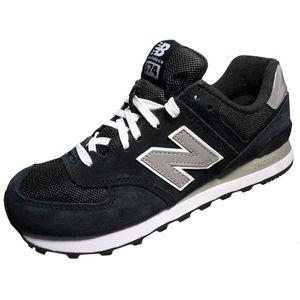 New Balance M574NK Herrensneaker schwarz silber
