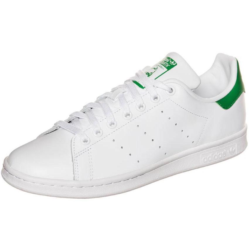 ADIDAS ORIGINALS Sneaker 'Stan Smith' grün / weiß