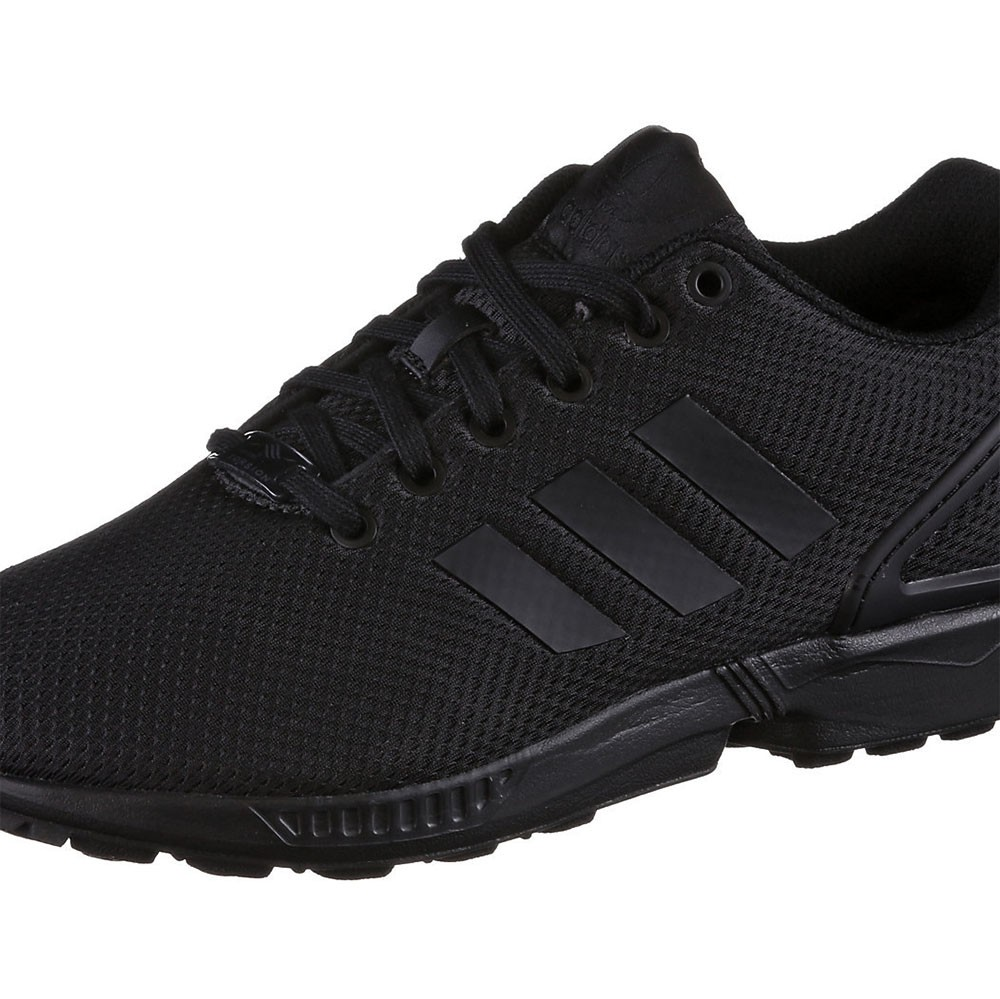 sports shoes a3229 6ce48 adidas ZX Flux K Kinder Damen Sneaker schwarz all black – Bild 3