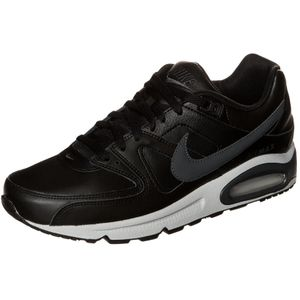 Nike Air Max Command Leather Herren Sneaker schwarz grau
