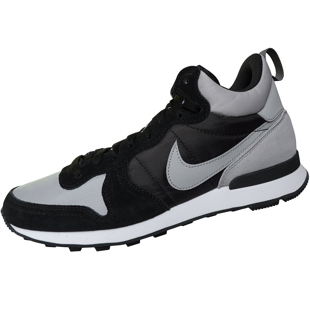 Nike Internationalist Mid Herren High-Top Sneaker schwarz grau