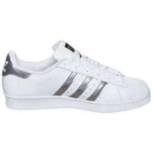 adidas Originals Superstar Sneaker weiß silber metallic – Bild 2