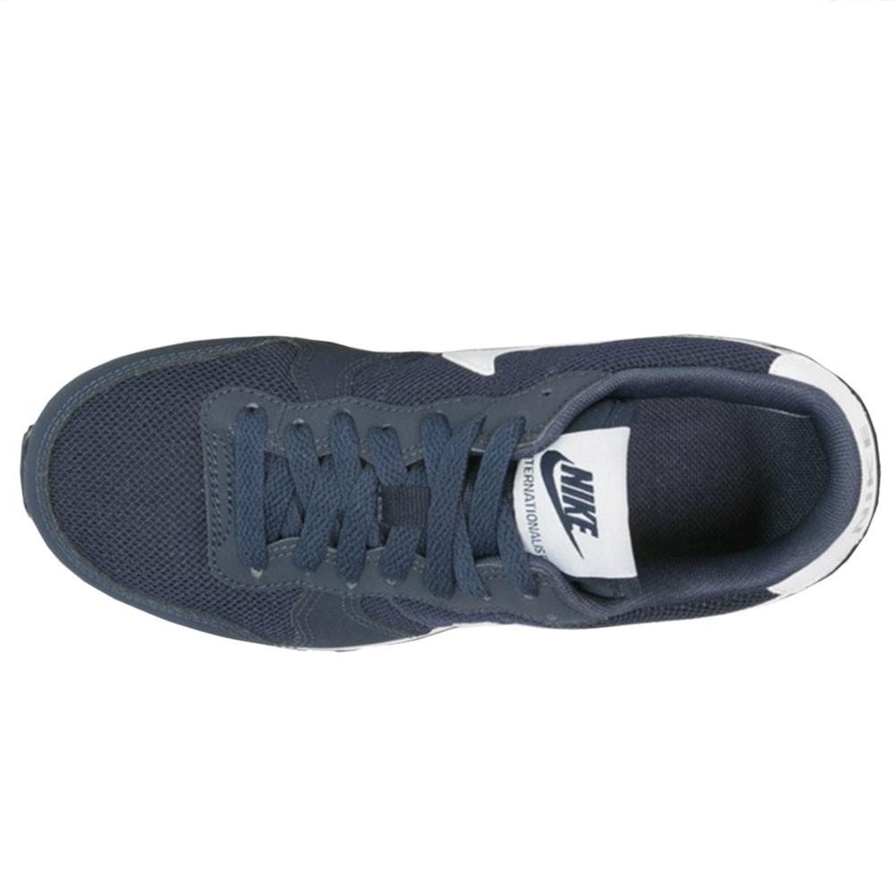 e85247675e1f7c Nike Internationalist GS Kinder Damen Sneaker blau – Bild 2