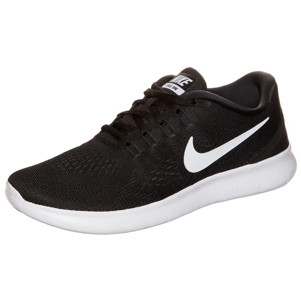 Nike WMNS Free RN Damen Sneaker schwarz weiß